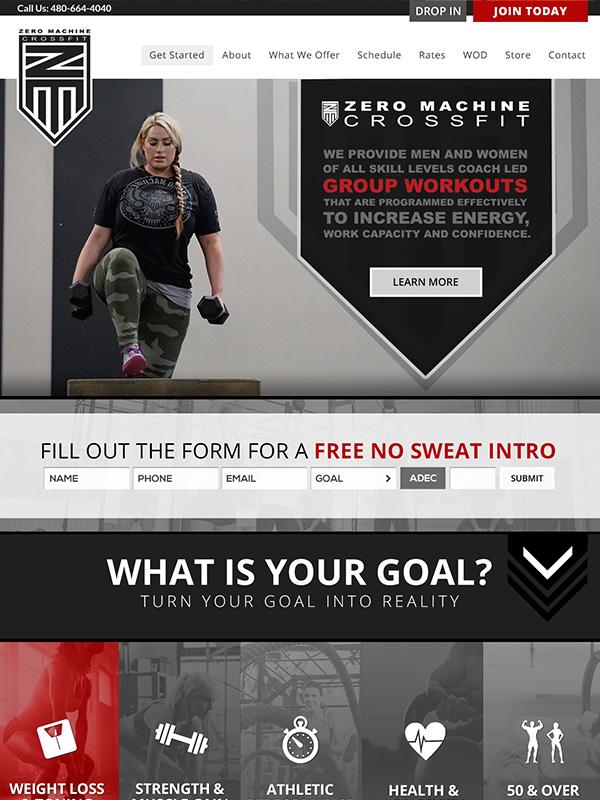Black Label Fitness Gym's Website Design And Facebook Advertising