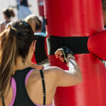 Fitness Kick Boxing Gym Website Design And Instagram Ad Client