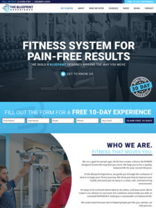 What are the top 12 best gym and fitness website designs?