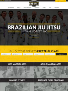 What Is The Best Lead Generating Martial Arts Website Design?